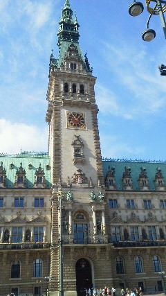 ハンザ都市ハンブルグの市庁舎
